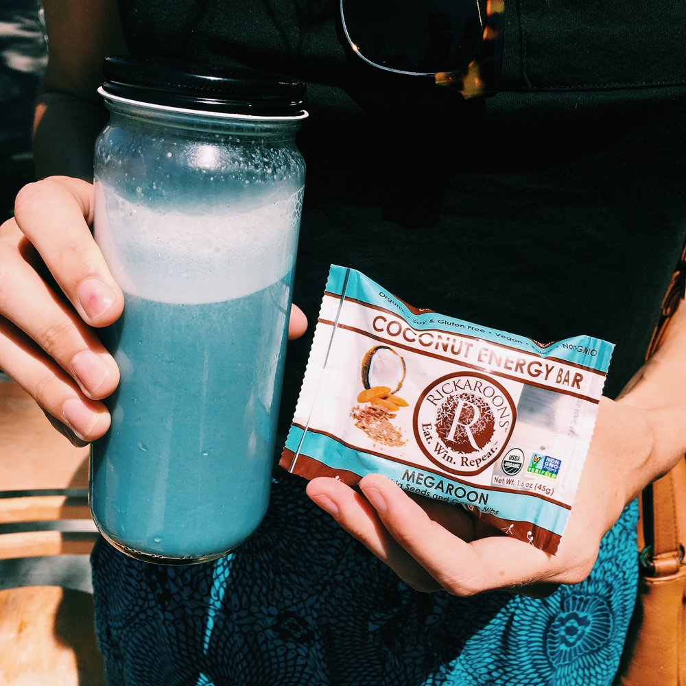 coconut energy bar