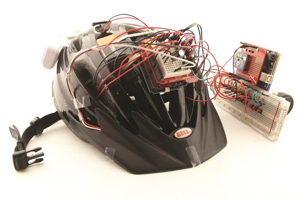 Sensory Helmet Prototype