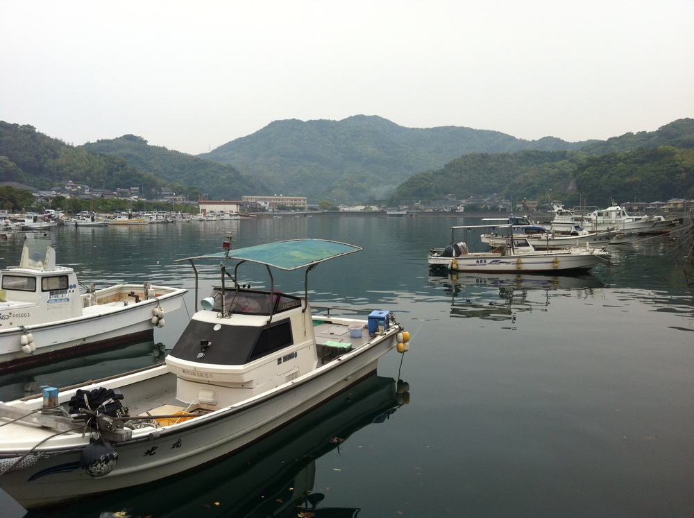 Sleepy, peaceful Mogi Port