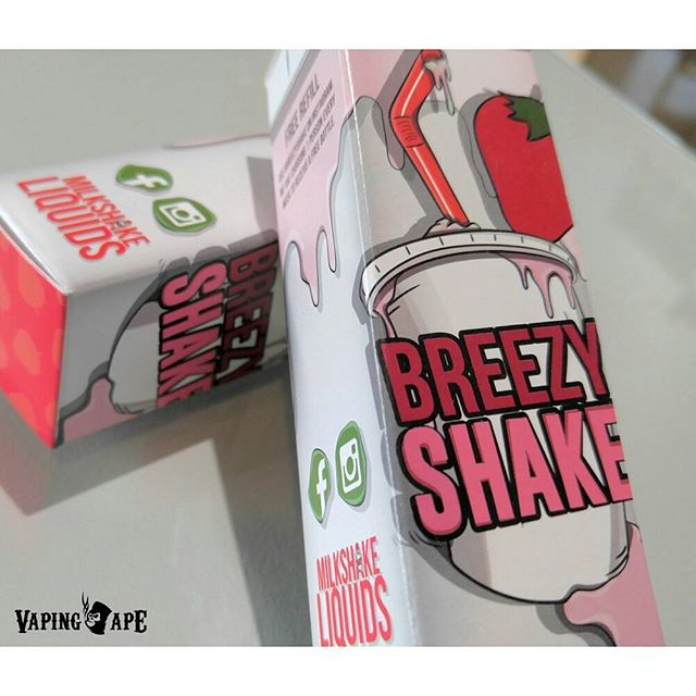 The Breezy Shake by Milkshake Liquids are available here at @VapingApeLA... A delicious strawberry milkshake flavor that will have you asking for seconds.  #vapingape #vapingapela #vapingapetokyo #vapingapeie #vapecommunity #vapefam #vapefamily #vapeworld #vapesociety #vapeuniverse #vapegalaxy #vapenation #savevaping #fightforvaping #fighttovape #vapingsavedmylife #vapingsaveslives #vapedonthate #vapedontsmoke #keepvapingalive #hr2058 #colebishopamendment #august8thorg #notblowingsmokeorg #casaa #sfata #smokefree #votenoprop56 #noonprop56