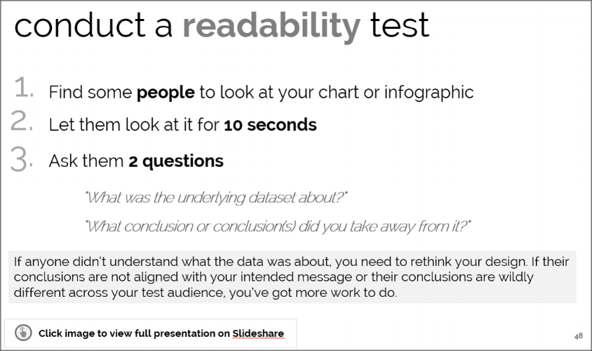 Slideshare - Intro to Data Visualization