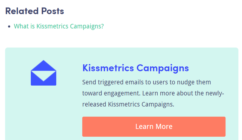 Kiss Metrics Blog CTA