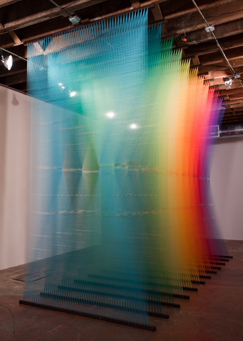 Plexus no.3 by Gabriel Dawe photographed by Kevin Todora
