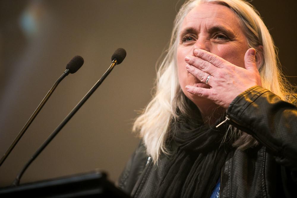 Manon Massé, nouvelle députée solidaire à l'Assemblée Nationale.