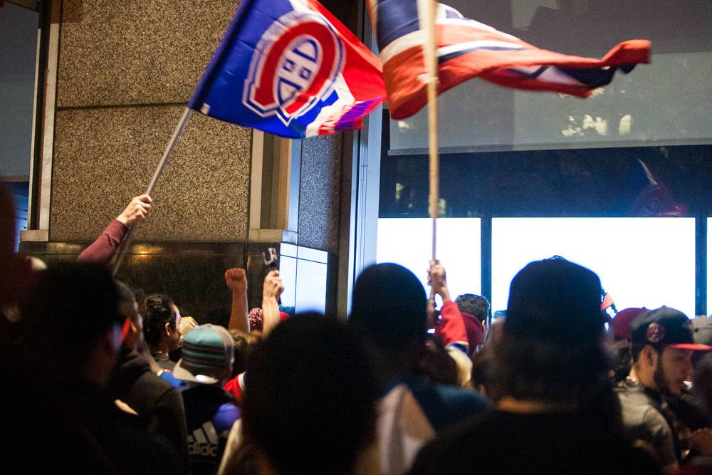 Victoire du Canadien de Montréal