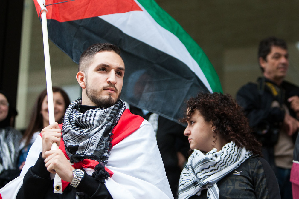 Manifestation pro-palestinienne à Montréal