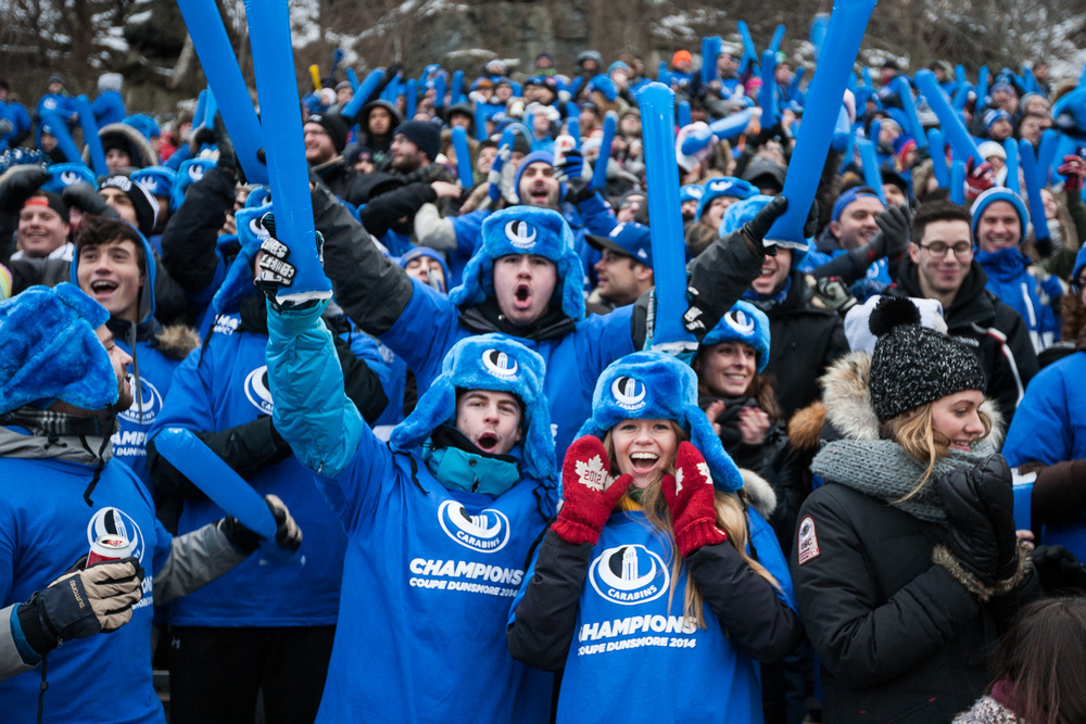 """La foule a fait """"trembler le Mont-Royal"""" lors d'un match extrêmement serré."""