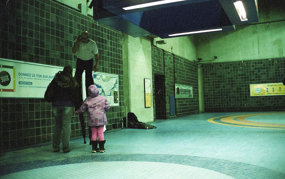 Jean-Talon metro station, Montreal.
