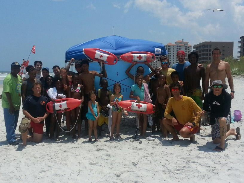 Jacksonville Beach Water Safety Session - 2013