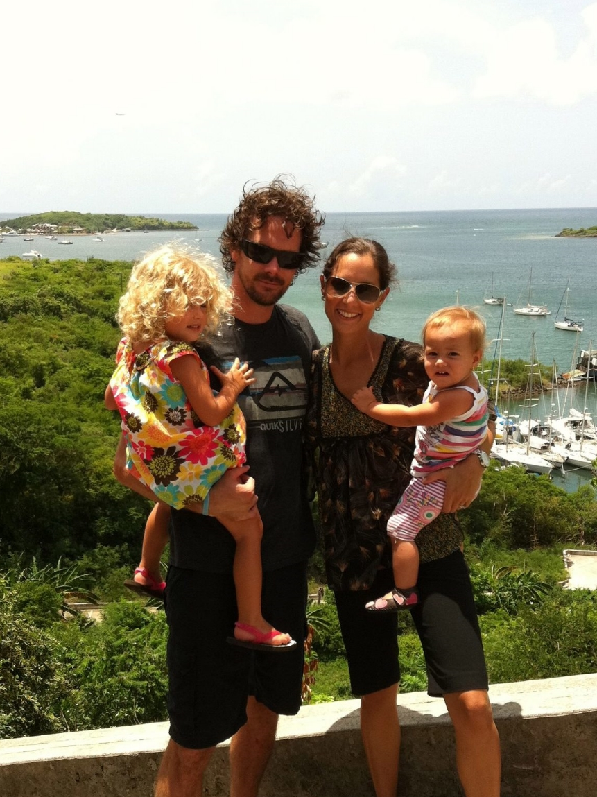 Brandon Bosscher  - Co-Founder  Brandon is a Dr. of Physical Therapy, keen surfer and rad Dad, living in Trinidad!