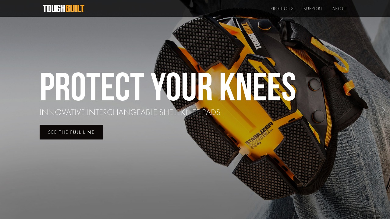 toughbuilt.com — Brad Good | Squarespace Expert & Website Designer