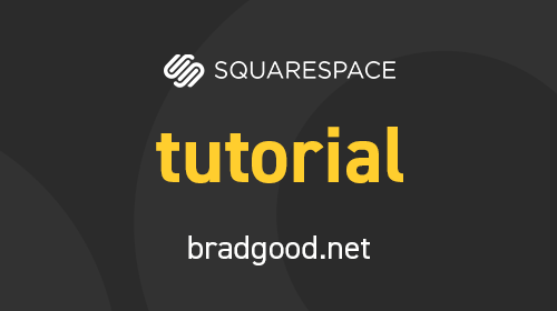How to add video background to squarespace brad good how to add custom fonts to squarespace pronofoot35fo Gallery