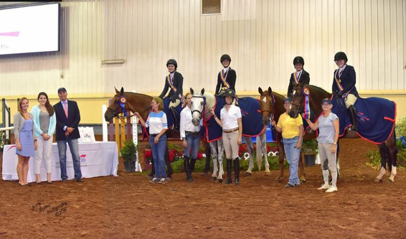 "FOR IMMEDIATE RELEASE Oklahoma City, OK ----   July 15, 2016 ----    Excitement was in the air at the 2016 USHJA Children's and Adult Amateur Hunter Central Regional Championships, presented by SmartPak, July 13-17 at the GO Show in Oklahoma City, OK, as riders from zones 6 and 7 participated in the first-of-its kind event. The Championships kicked off on Wednesday with the Children's Team Championships, which provided an opportunity for a friendly, but competitive face-off between the two teams from Zone 7. ""It was very friendly and very fun,"" Zone 7 Chef d'Equipe Joey Brumbaugh said about the competition. >> Read Full Story <<"