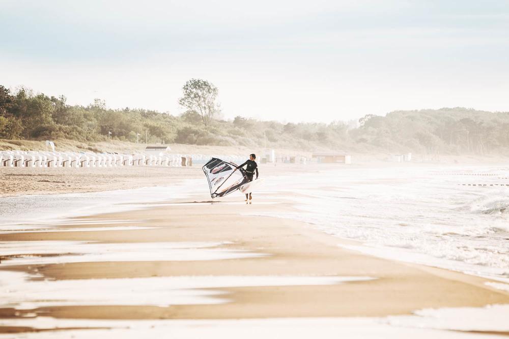 Windsurfer Strand