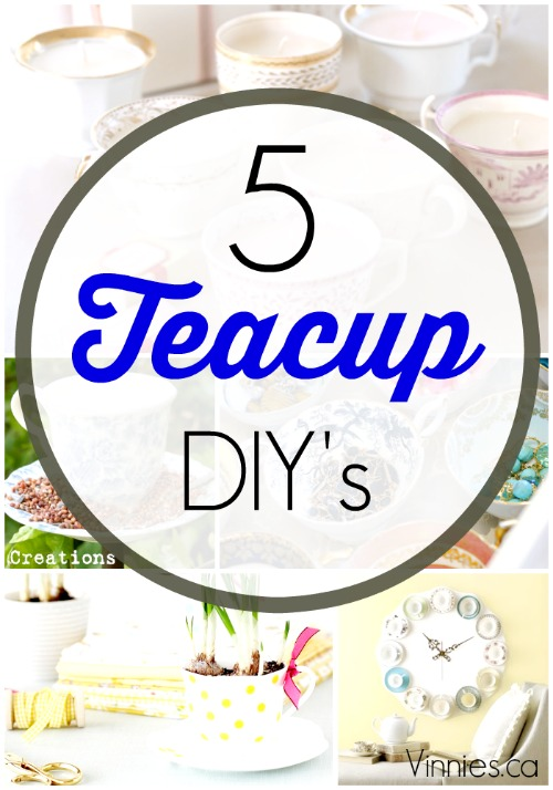 5 diy s for the teacup lover with spring inspiriation vinnies