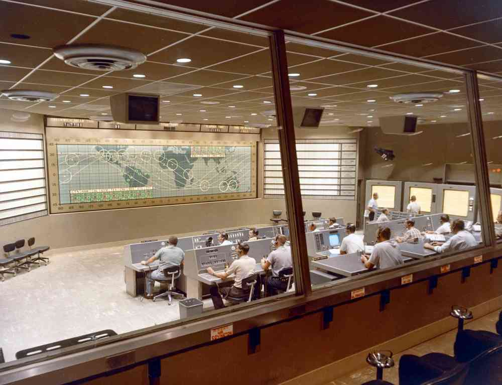 NASA Mercury Control Room
