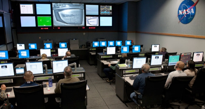 NASA Dryden Control Room
