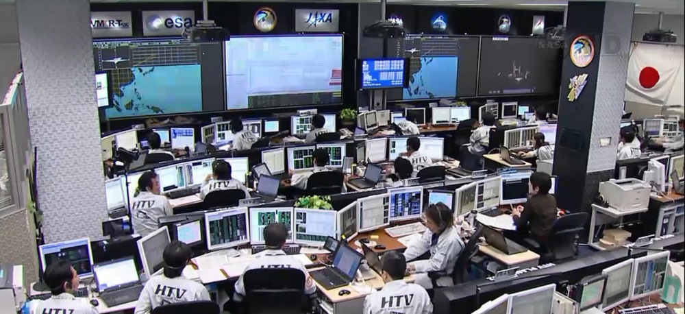 HTV Control Room, Japan