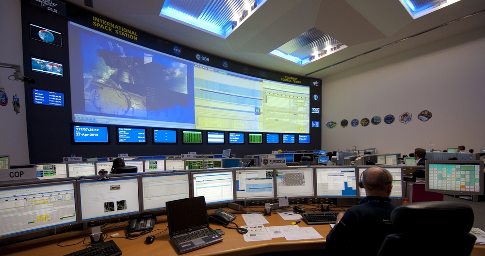 European Space Agency Columbus Control Room