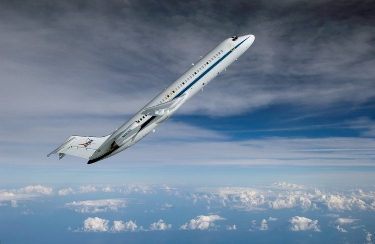"NASA's C-9 ""Weightless Wonder"" reduced gravity aircraft.  Yes, that is exactly how they fly it."