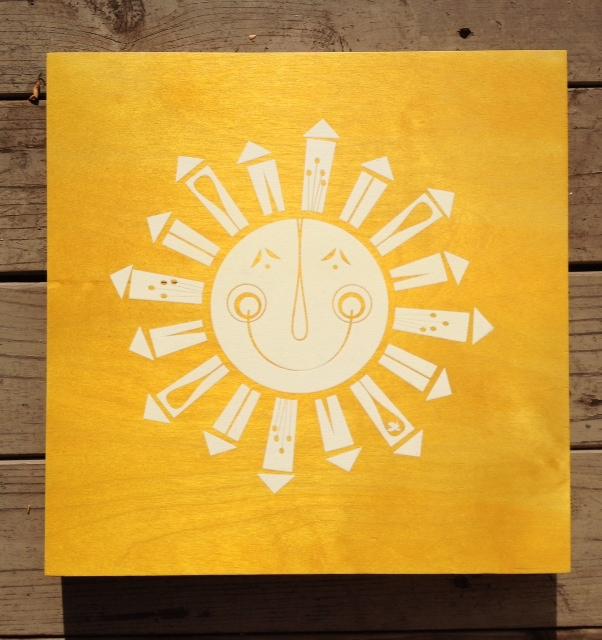 Large sun - 15x15 - $79