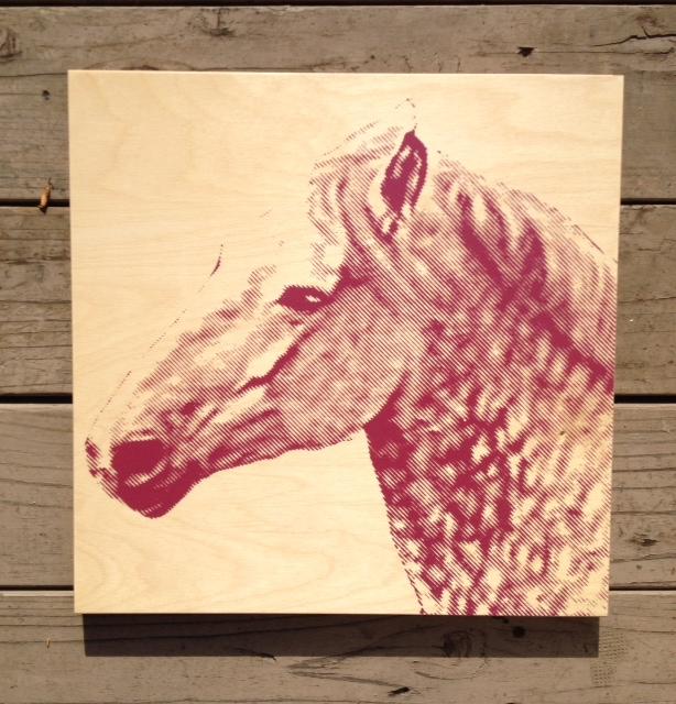 Horse - 15x15 - $79