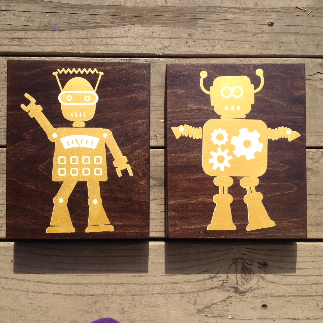 Hustle + Pop 8x10 - $48ea (gold)