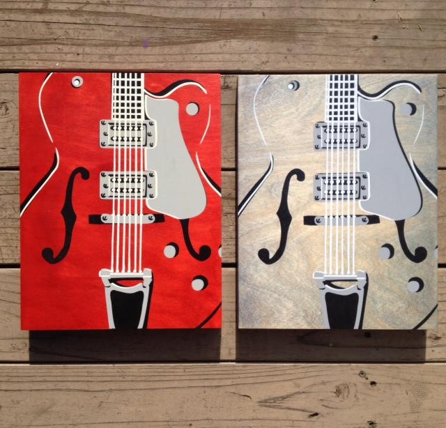 Guitar 3: Gretsch - 11x14 - $89