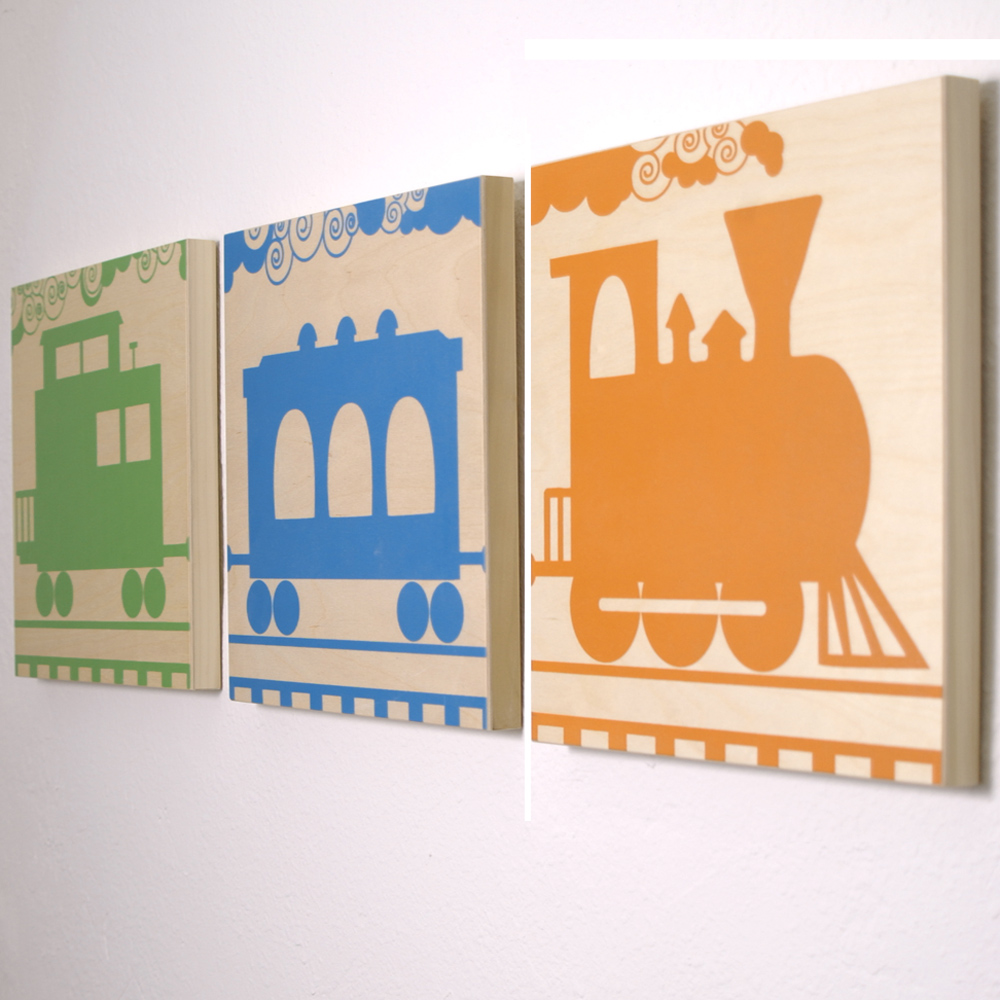 Train set - 12x12each panel - $159/set