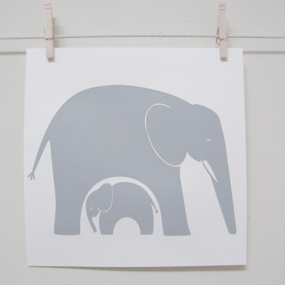 Elephants - 12x12