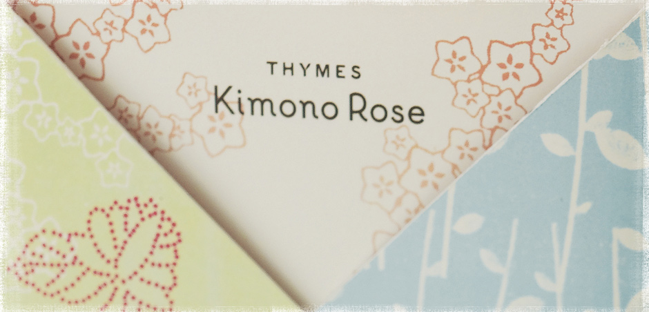 "Mostly B's- You're a romantic and playful person, Kimona Rose is for you! ""Kimono Rose® is a modern floral collection that revels in true feminine sophistication. Sheer and romantic, its vital essence is at turns playful and passionate, a fragrant dance that glides easily from day to evening. Effervescent clementine and voluptuous cassis tumble together on a creamy bed of satiny rose, white peony and jasmine petals. A gentle kiss of vanilla leaves a sheer, sensuous finish."""