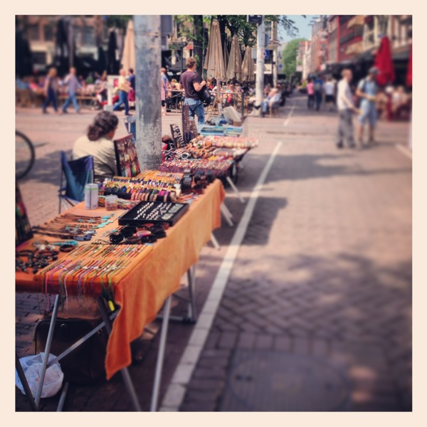 Handmade jewelry in Amsterdam