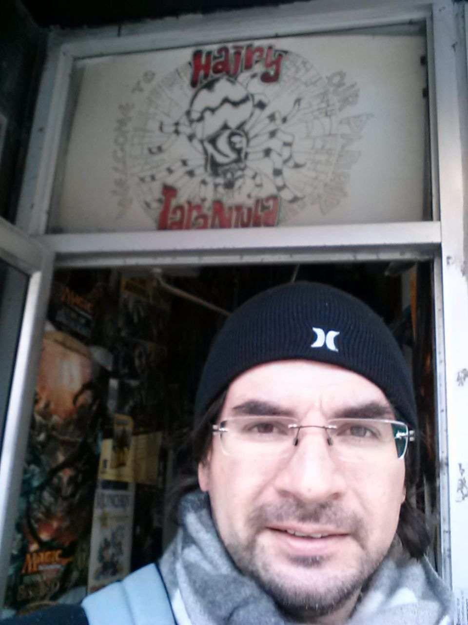 Adventures in Toronto - Comic Book Hunt (Hairy Tarantula)
