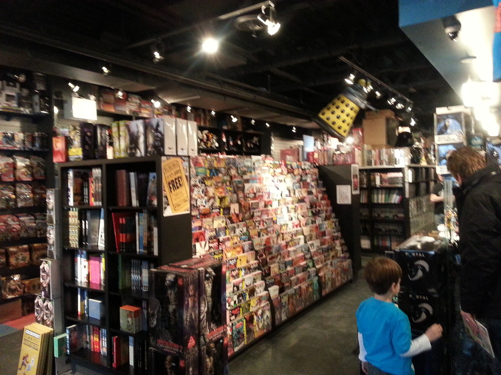 Adventures in Toronto - Comic Book Hunt (Silver Snail)