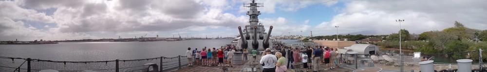 Battleship USS Missouri