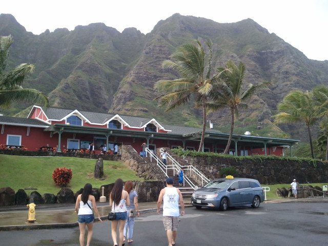 Around the island. Kualoa Ranch