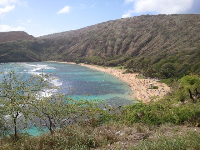 Around the island. Hanauma Bay