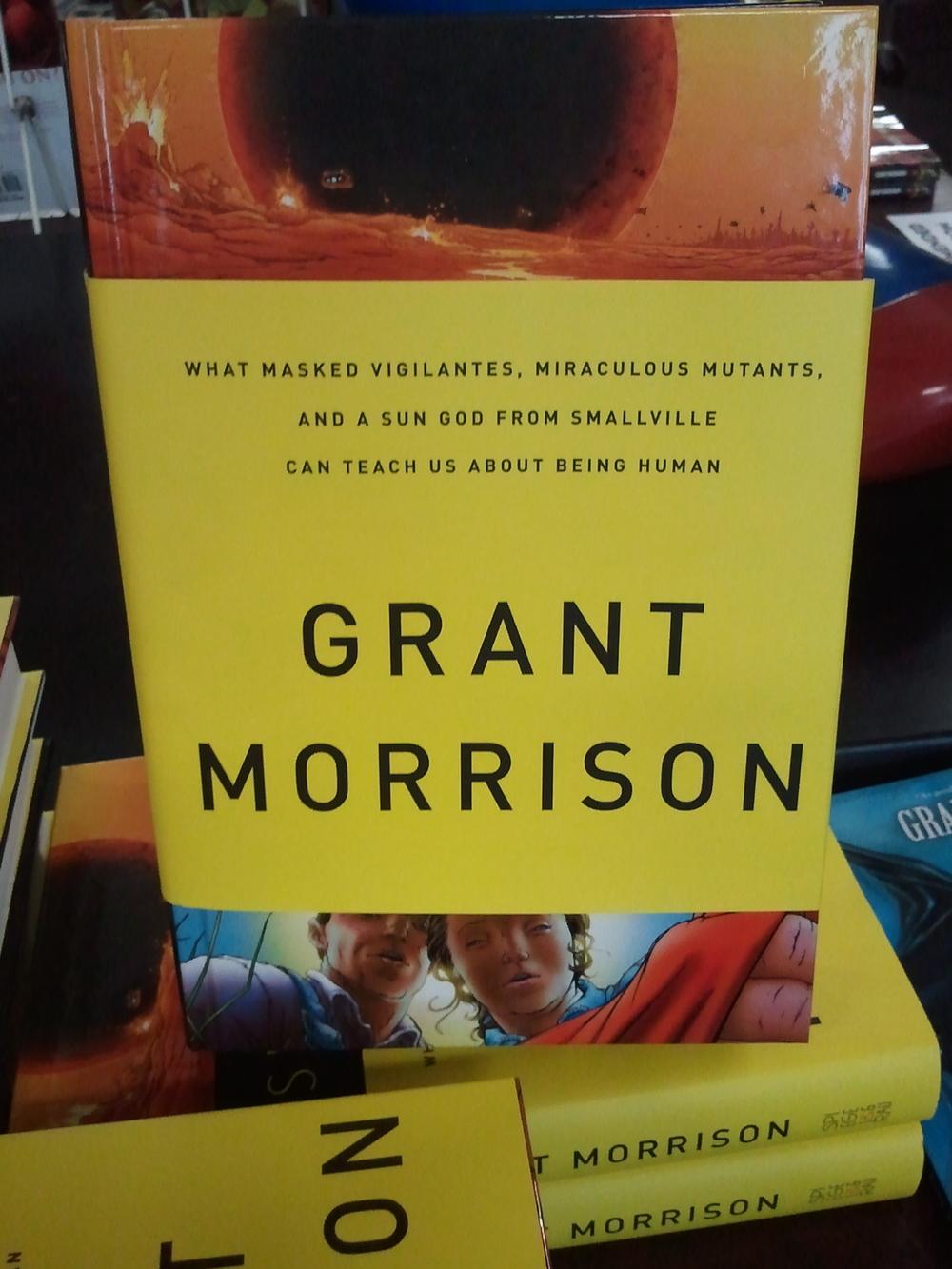 Grant Morrison Book Signing