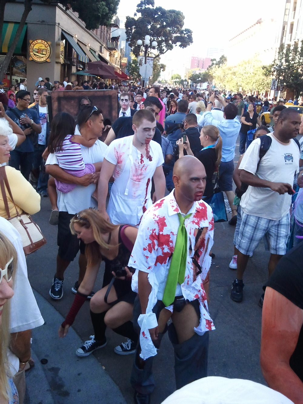 Breaking News: Zombies Invade San Diego