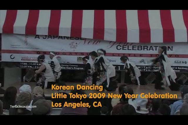 Korean Dancing Perofrmance