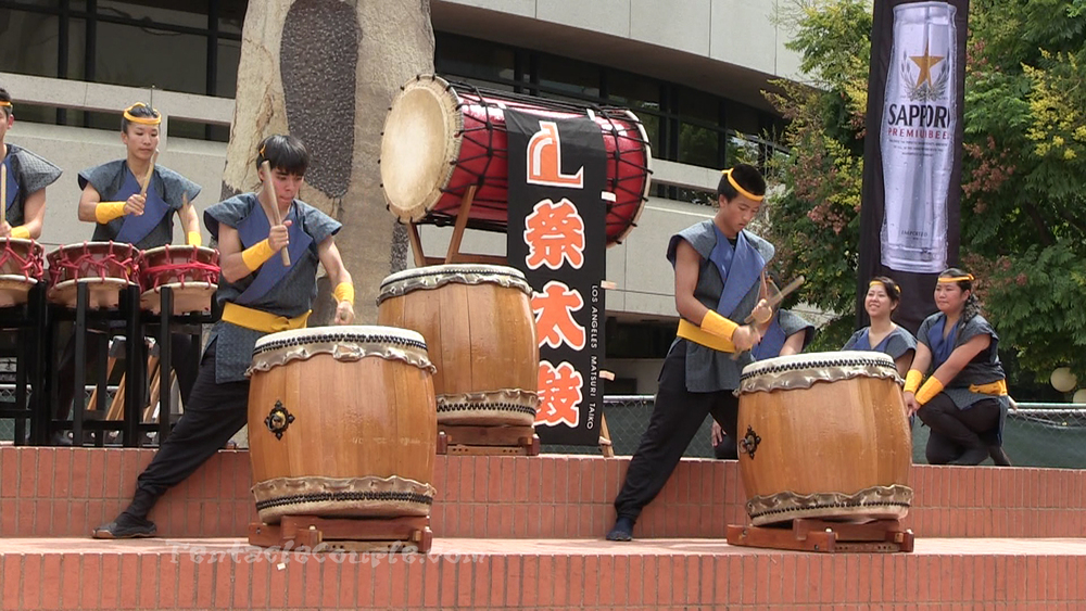 Taiko Drums Performance