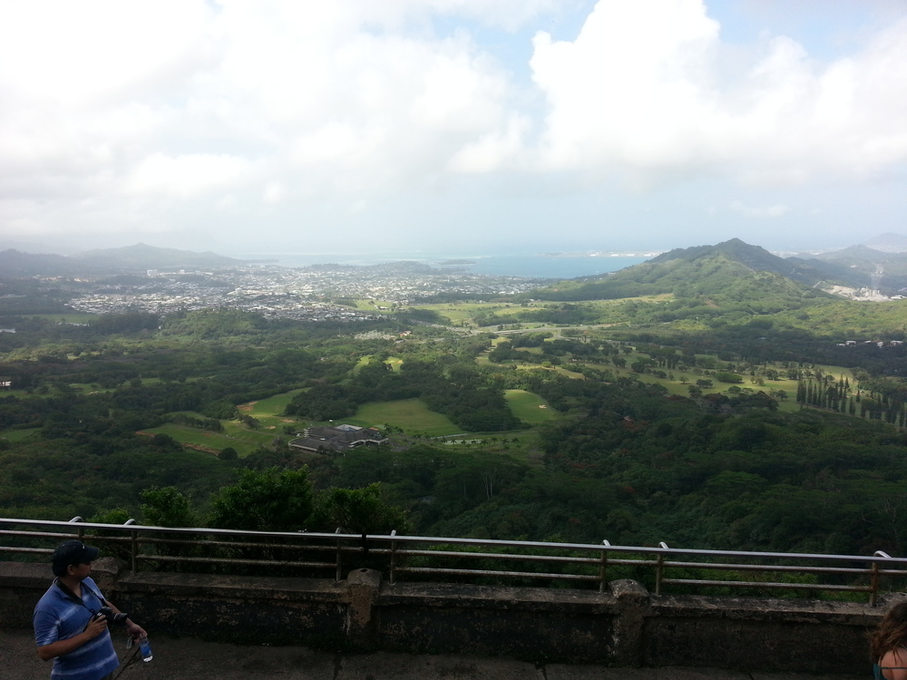 The Nu'uanu Pali Lookout