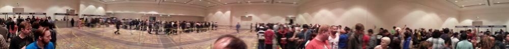 Panoramic View Inside the Ballroom