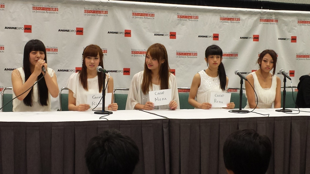 AnimeExpo 2013 - Carat Press Conference