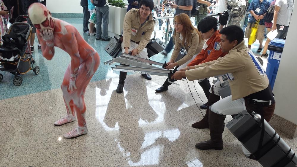 AnimeExpo 2013 - Attack on the Naughty Titan
