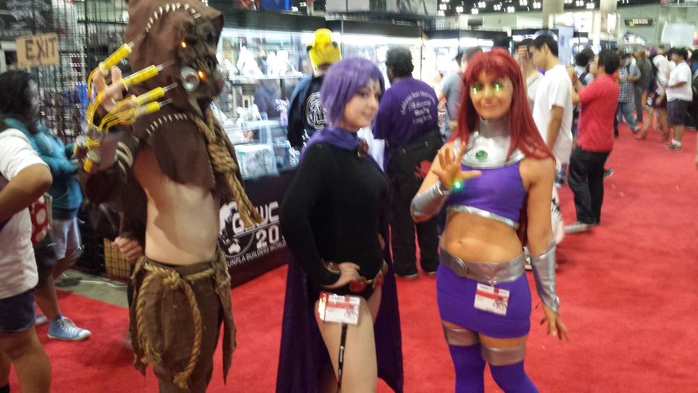 AnimeExpo 2013 - Titans Go!