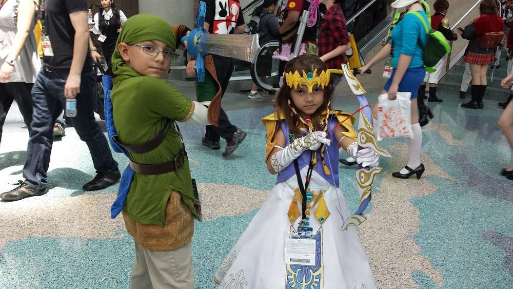 AnimeExpo 2013 - Get them while they are young