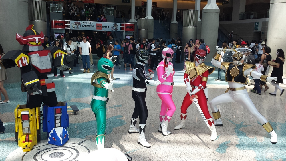 AnimeExpo 2013 - Go Go Power Rangers