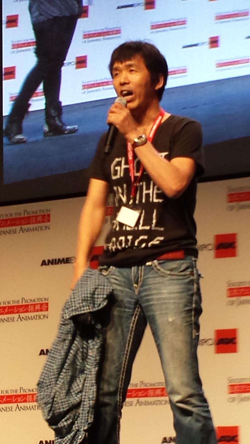 AnimeExpo 2013 - Mitsuhisa Ishikawa at closing ceremonies