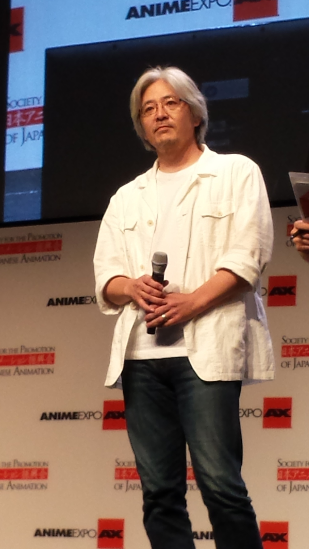 AnimeExpo 2013 - Kazuchika Kise at closing ceremonies